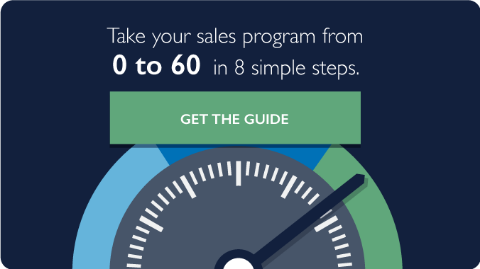 Take your sales program from 0 to 60
